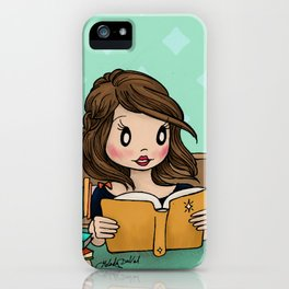 The Library is Infinity Under a Roof iPhone Case