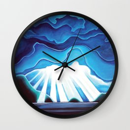 Hutt Island Wall Clock