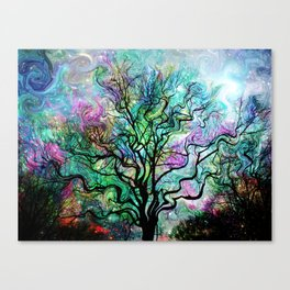 Van Gogh's Aurora Borealis Canvas Print