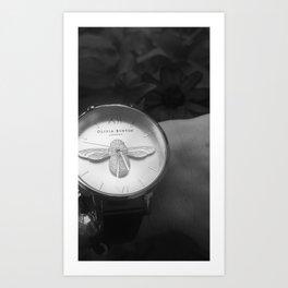 bee watch Art Print