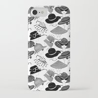 hats iPhone & iPod Cases featuring Hats, Hats, Hats!! by Lina Che