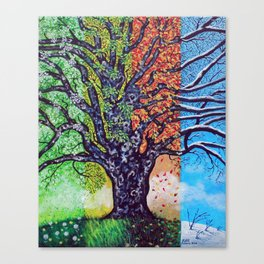 'A Tree For All Season' Canvas Print