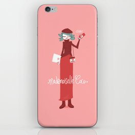 Mademoiselle Coco iPhone Skin