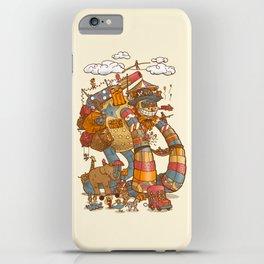 Circusbot iPhone Case