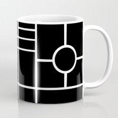 PS Grid Black Mug