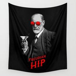 Hipster Psychologist Sigmund Freud Wall Tapestry