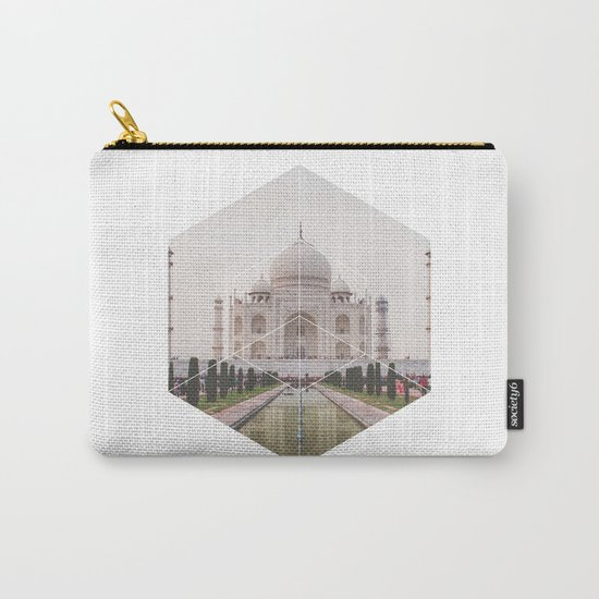 Taj Mahal - Geometric Photography Carry-All Pouch