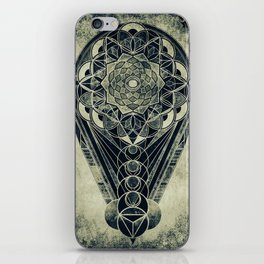 Sacred Geometry for your daily life -  Galactic OHM iPhone Skin
