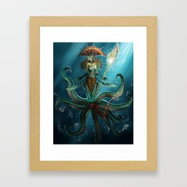 Deep Fear Framed Art Print