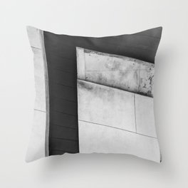 Abstract High Line Throw Pillow