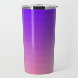Pink and Purple Ombre Travel Mug