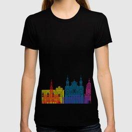 Lublin skyline pop T-shirt