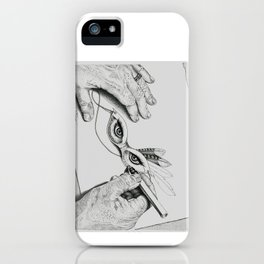 Tory's Eyes iPhone Case