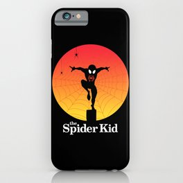 The Spider Kid iPhone Case