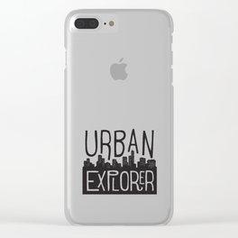 URBAN EXPLORER Clear iPhone Case
