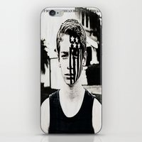 american psycho iPhone & iPod Skins featuring American Beauty/American Psycho by ClassicalSass