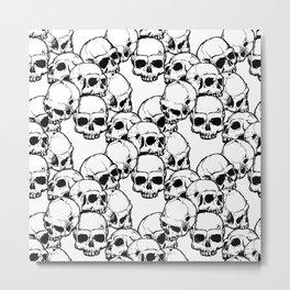 Skool Metal Print