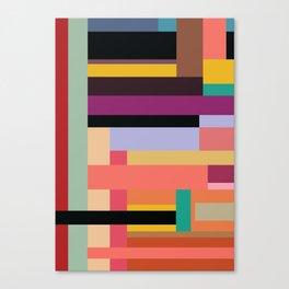 Color Rods 2 Canvas Print