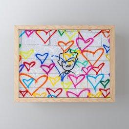 People Love Framed Mini Art Print