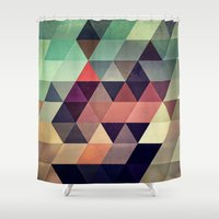 dancing Shower Curtains featuring tryypyzoyd by Spires