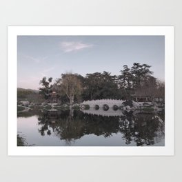 peaceful view Art Print