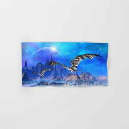 Fantasy Dragons Hand & Bath Towel