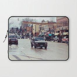 Downtown Street - Sheridan, WY Laptop Sleeve