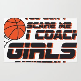 Coach Girls Basketball Sport Gift Rug
