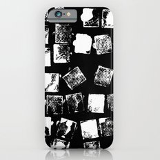 Stamp Black and White Slim Case iPhone 6s