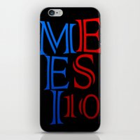 messi iPhone & iPod Skins featuring Messi by Sport_Designs