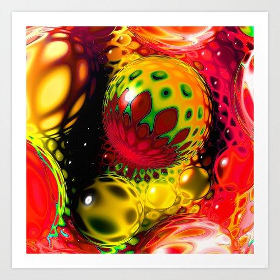 The Now Event - Sodium Art Print