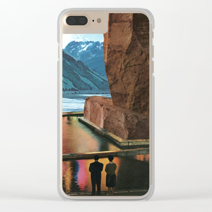 Our Monument Clear iPhone Case