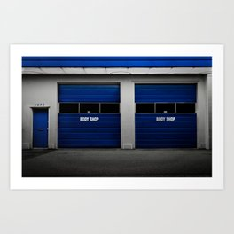 BodyShop Art Print
