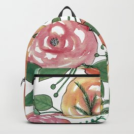 Peachy-est of Flowers Backpack