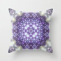 blue Hyacinthus N°2  ( pillow) Throw Pillow