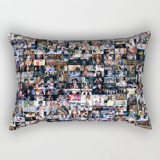 Grey's Anatomy - 200 Episodes Rectangular Pillow