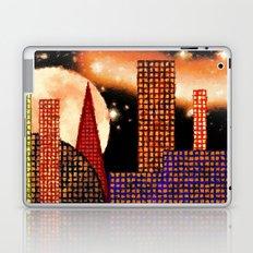 CITY BY MOON LIGHT - 001 Laptop & iPad Skin