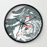 pocahontas Wall Clocks featuring Pocahontas by ItDrizzles