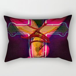 CECI EST MON SANG this is my blood Rectangular Pillow