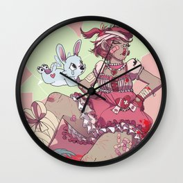 Magical Brawler Wall Clock