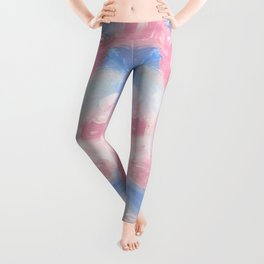 Berry Abstract Leggings