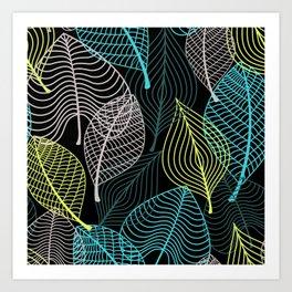 The Leaves Art Print