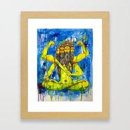 Brahma Revival Framed Art Print