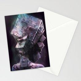 Fluorite Goddess Stationery Cards