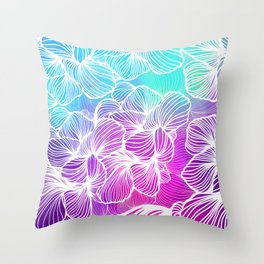 Tropical Cold Front Throw Pillow