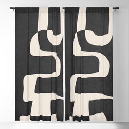 Abstract Art 55 Blackout Curtain