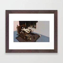H_H Framed Art Print