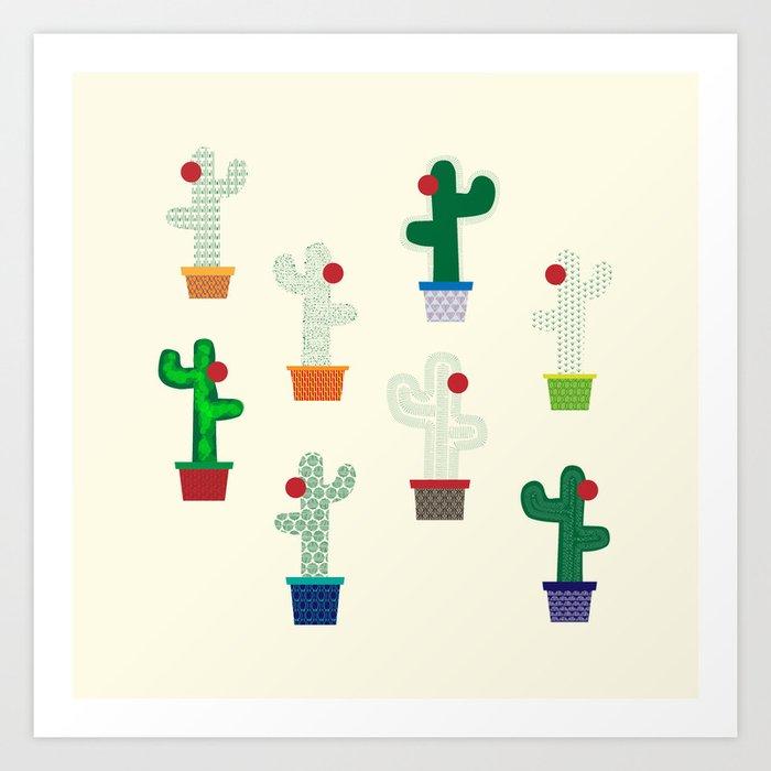The Cactus! Art Print