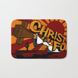 Christ Fu - Love Thy Unconscious Enemy Bath Mat