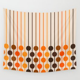 Golden Sixlet Wall Tapestry